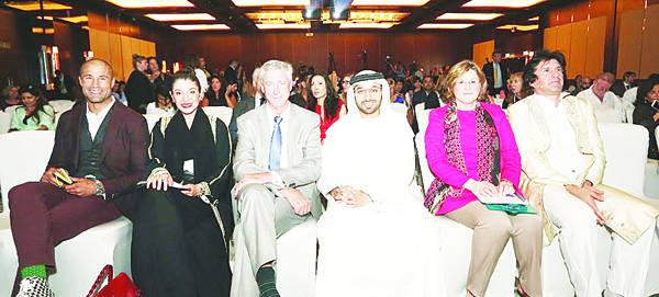 A photo from the launch of Emirates Airline Festival of Literature line-up and new events for 2016.