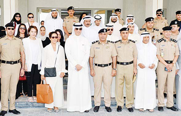 The team which visited the correctional facility