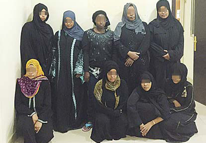 The gang of women arrested for running a bogus maids office