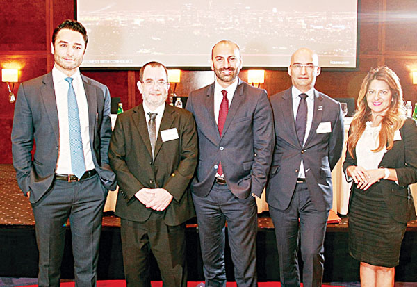Speakers at a panel discussion organised by ICAEW's Corporate Finance Faculty.