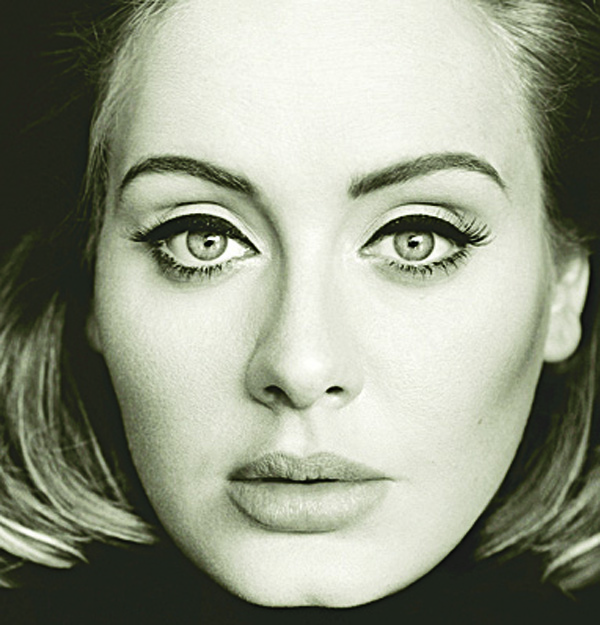 This CD cover image released by Columbia Records shows '25', the latest release by Adele. (AP)