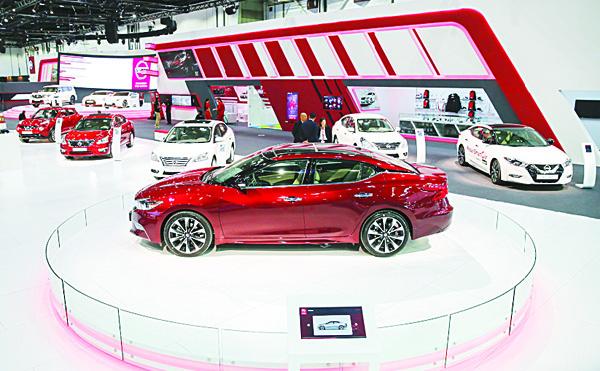 Nissan stand - Dubai International Motor Show