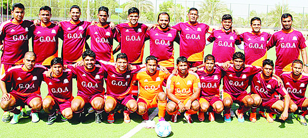 Victorious Goa Maroons