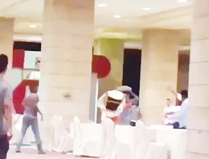 Video clip of a fight in Sharq