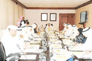 Minister of Information and State Minister for Youth Affairs Sheikh Salman Sabah Al-Salem Al-Hamoud Al-Sabah presided over the first meeting of the Supreme Tourism Council which was held in his office.