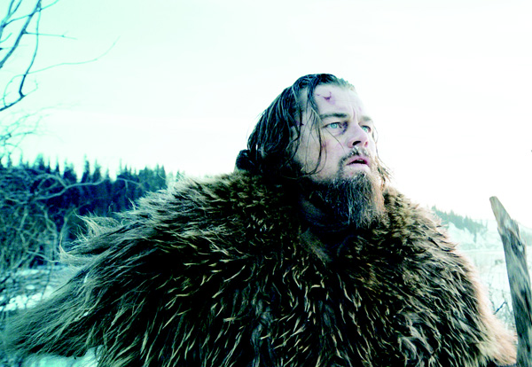 This photo provided by courtesy of  Twentieth Century Fox shows Leonardo DiCaprio as Hugh Glass, in a scene from the film 'The Revenant,' directed by Alejandro Gonzalez Inarritu. The movie opens in limited release on Dec 25, and wider release in US theaters on Jan 8, 2016. (AP)