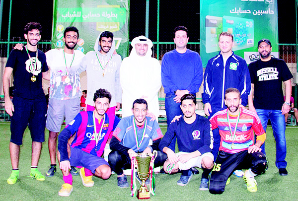 KFH staff with champions at coronation ceremony