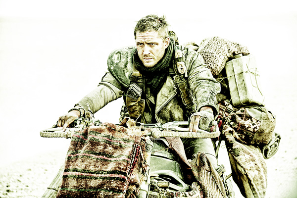 This photo provided by Warner Bros Pictures shows Tom Hardy, as Max Rockatansky, in Warner Bros Pictures' and Village Roadshow Pictures' action adventure film, 'Mad Max:Fury Road,' a Warner Bros Pictures release. (AP)