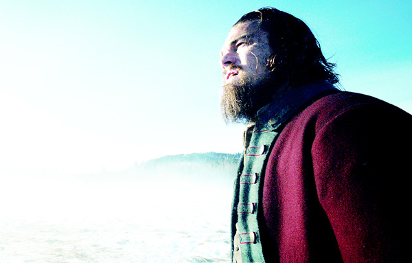 This photo provided by Twentieth Century Fox shows Leonardo DiCaprio in a scene from the film 'The Revenant'. (AP)