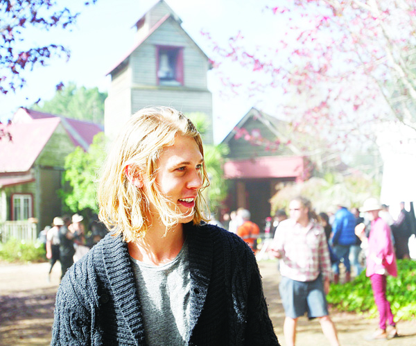 In this May 13, 2015 photo, actor Austin Butler visits the set of MTV's new fantasy series 'The Shannara Chronicles' during filming in Kumeu, New Zealand. Best known for its reality shows, MTV hopes the new series will become its flagship scripted show after its Jan 5 premiere. (AP)