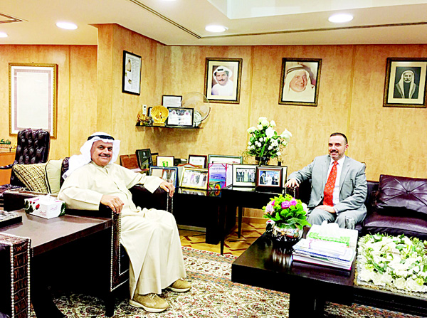 Aaw welcomes french ambassador to kuwait arab times
