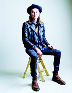 In this Nov 10, 2015 photo, James Bay poses for a portrait in New York. Bay is nominated for three Grammy Awards for his debut album 'Insane.' (AP)