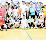 FBAA participants pose for a group photo after the tournament.