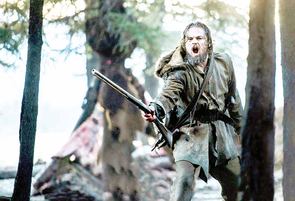 This photo released by Twentieth Century Fox shows Leonardo DiCaprio wearing a costume designed by Jacqueline West in a scene from the film, 'The Revenant'. West is nominated for costume design for her work on the film, 'The Revenant'. The 88th Academy Awards will be held on Sunday, on Feb 28. (AP)