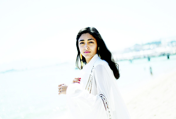 This file photo taken on May 18, 2015 shows Iranian actress Golshifteh Farahani posing during a photocall for the film 'Les Deux Amis' (Two Friends) at the 68th Cannes Film Festival in Cannes, southeastern France on May 18, 2015. (AFP)