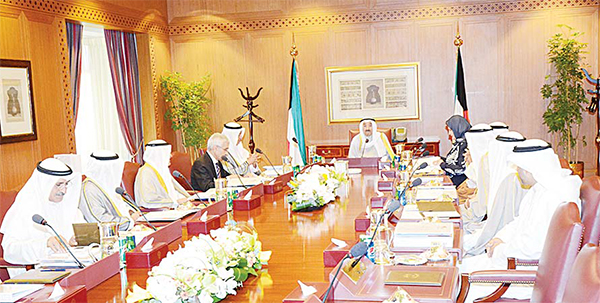His Highness the Amir Sheikh Sabah Al-Ahmad Al-Jaber Al-Sabah chaired on Monday a meeting of Kuwait Foundation for the Advancement of Sciences (KFAS) at Seif Palace