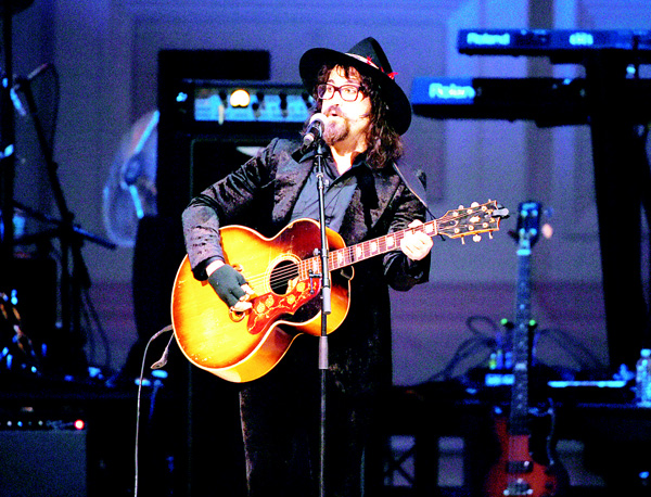 Musician Sean Lennon performs at The Music of David Bowie tribute concert at Carnegie Hall on March 31, in New York.