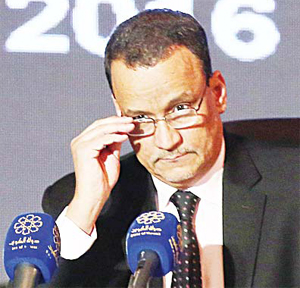 United Nations Special Envoy to Yemen Ismail Ould Cheikh Ahmed
