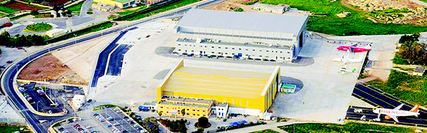 Safi Aviation Park — A 200,000 sqm airside facility with direct access to the runways housing an aircraft servicing cluster.