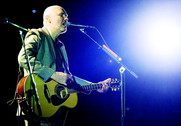 Billy Corgan of The Smashing Pumpkins performs in concert at The Beacon Theatre on April 4 in New York City.(AFP)
