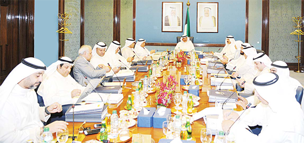 Cabinet weekly meeting