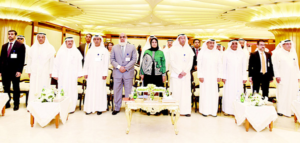 EQUATE CEO Mohammad Husain seen with other dignitaries during the event.
