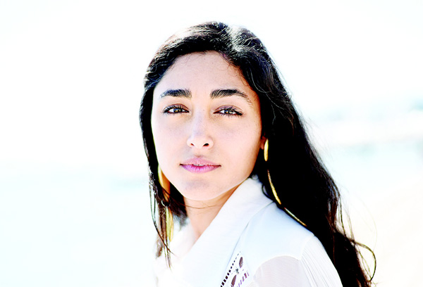 This file photo taken on May 18, 2015 shows Iranian actress Golshifteh Farahani posing during a photocall for the film 'Les Deux Amis' (Two Friends) at the 68th Cannes Film Festival in Cannes, southeastern France. Iranian actress Golshifteh Farahani plays the role of Anna Karenina at the Theatre de la Tempete in Vincennes, near Paris, from May 12 to June 12. (AFP)