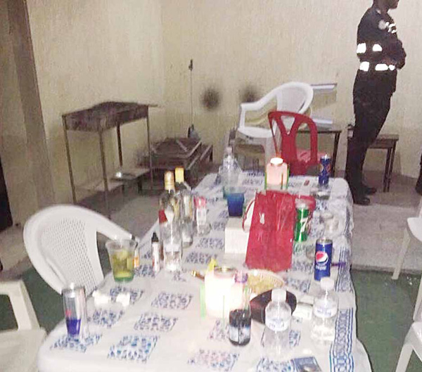 five boys 4 girls held partying 16 year old steals luggage of