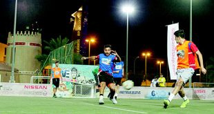 A photo taken during the Red Bull's Neymar Jr Five Tournament.