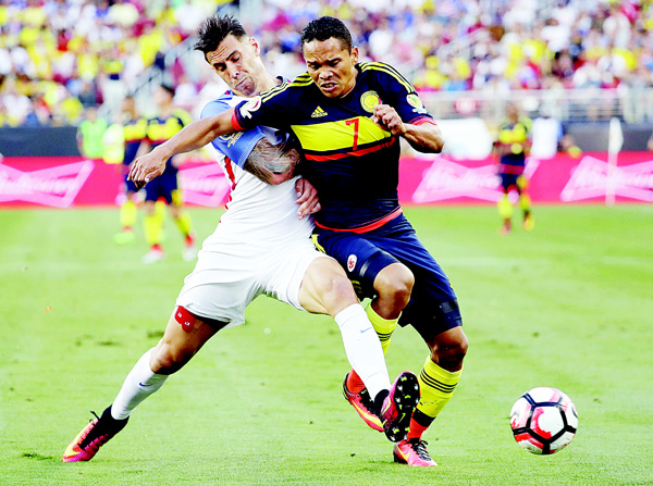 united states vs colombia for the Us undone by colombia's second-half onslaught colombia rode three second-half goals to a 4-2 friendly win against the united states in tampa on thursday night.