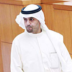 Oil and Finance Minister Anas Al-Saleh
