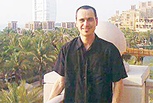 A handout picture released by the nonprofit organisation Detained in Dubai on Aug 19, and taken on an unspecified date in 2015 shows British-Australian man Scott Richards pictured in Dubai. The British-Australian man has been detained in Dubai for highlighting the work of an Afghan refugee charity on social media, a campaign group and his brother said on Aug 19. (AFP)