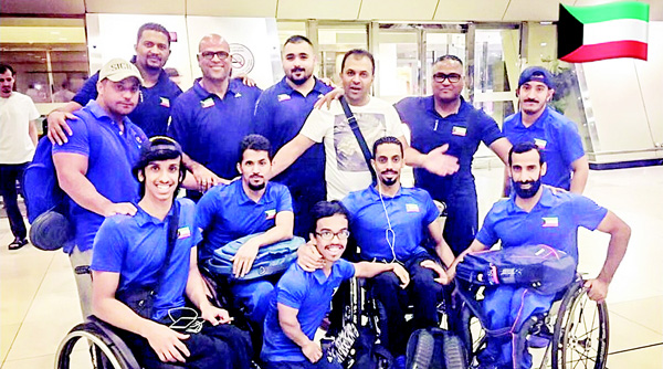 Kuwait team for Rio 2016 Paralympics leaves for Brazil today