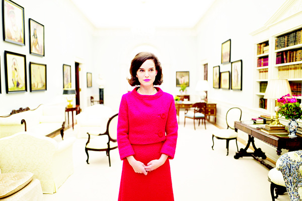 This image released by the Toronto Film Festival shows Natalie Portman as Jackie Kennedy from the film 'Jackie.' (AP)