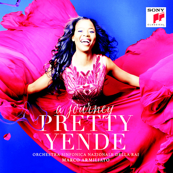 This cover image released by Sony Classical shows 'A Journey', a release by Pretty Yende. (AP)