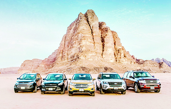 Ford's SUV lineup