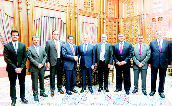 KFH delegation at the embassy of Kuwait.