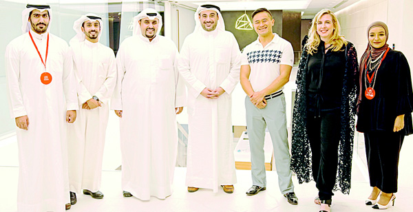 Omar Alghanim with guests.