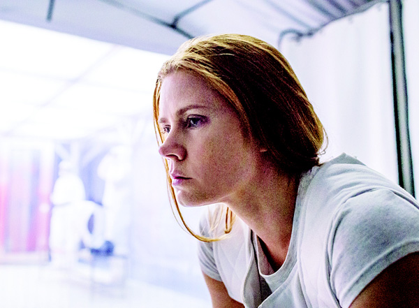 This image released by Paramount Pictures shows Amy Adams in a scene from 'Arrival'. (AP)