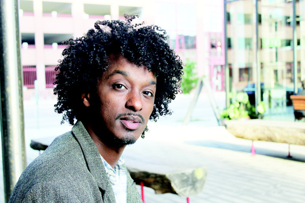 In this Oct 22, 2016 photo K'naan poses in Minneapolis. The Somali-Canadian rapper, who is directing and writing the proposed HBO series 'Mogadishu, Minnesota', wants to tell the story of an immigrant coming to America and trying to adjust. (AP)