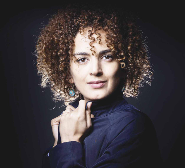 This file photo taken on Sept 28, 2016 shows French writer Leila Slimani posing during a photo session in Paris.Moroccan-born Leila Slimani won the France's top literary prize Goncourt on Nov 3. (AFP)