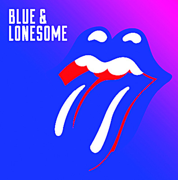 This cover image released by Interscope shows, 'Blue & Lonesome', the latest release by the Rolling Stones. (AP)