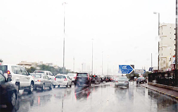 Scattered rains in various parts of the country