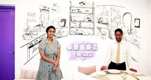 FOOD THAT FILLS YOU – JUNA'S WITH A HUG FROM INSIDE