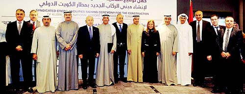 Nbk and kfh signed a kd 2492 million syndicated credit agreement nbk and kfh signed a kd 2492 million syndicated credit agreement with turkeys limak platinumwayz