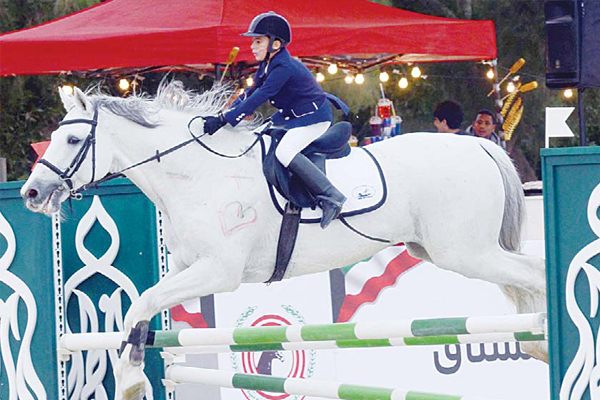 Al Khorafi Dominates Main Barrier Jumping Competition