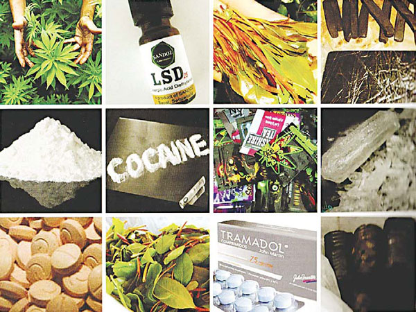 Literate among abusers as widespread use of various drugs