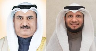 Minister of Education and Higher Education Dr Saud Al-Harbi and Finance Minister Barrak Al-Shitan