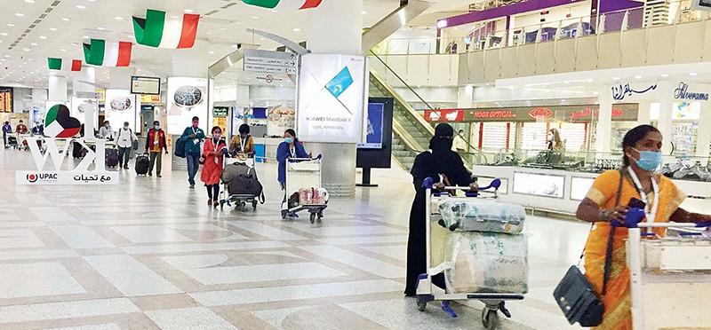 "Kuwaitis, Domestic workers Arrive On 48 Flights – ""Shot, No Quarantine"""