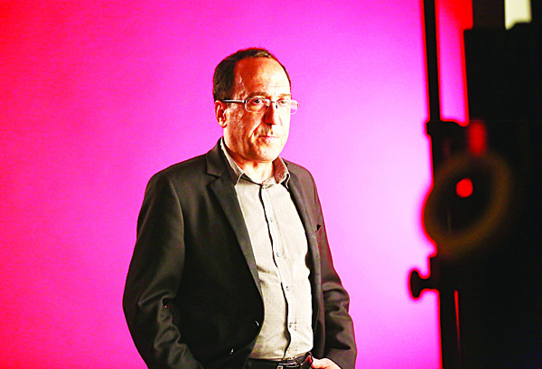 Director Abbas Fahdel attends the 53rd New York Film Festival – 'Homeland'  at Elinor Bunin Munroe Film Center on Oct 5, in New York City. (AFP)